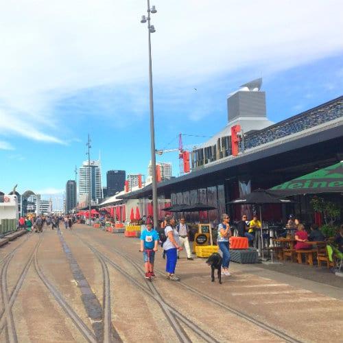 Alojarse en Auckland - Viaduct Harbour