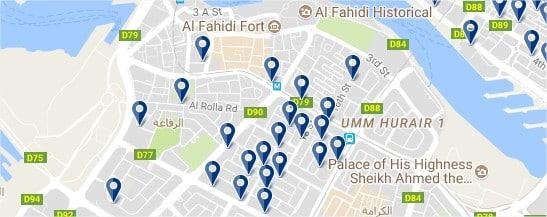 Bastakiya - Haz clic para ver todos los hoteles en un mapa