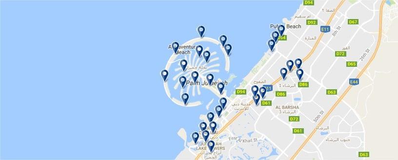 Dubai Beach - Haz clic para ver todos los hoteles en un mapa