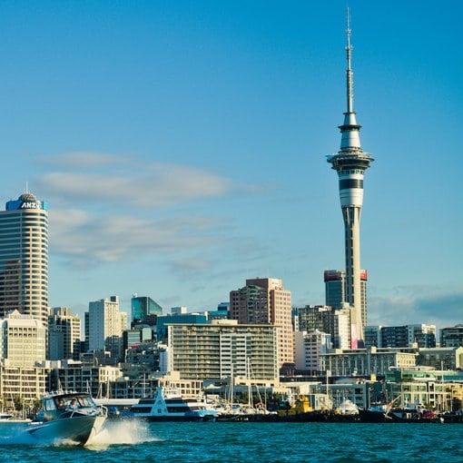 Hospedarse en el centro de Auckland