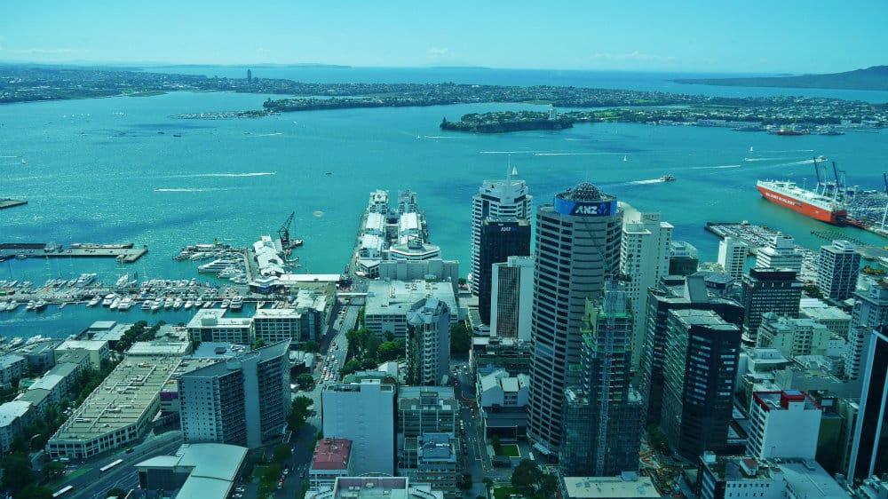 Vistas del Auckland CBD, Devonport y la East Coast