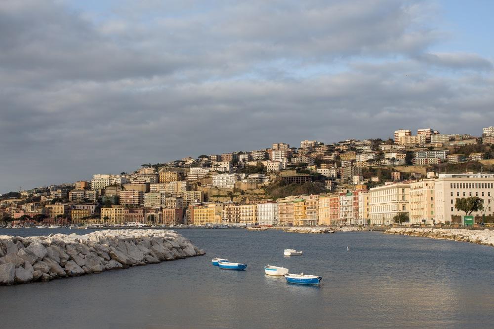 Dónde hospedarse en Nápoles - Lungomare Caracciolo