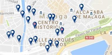Málaga - Centro - Haz clic para ver todos los hoteles en un mapa