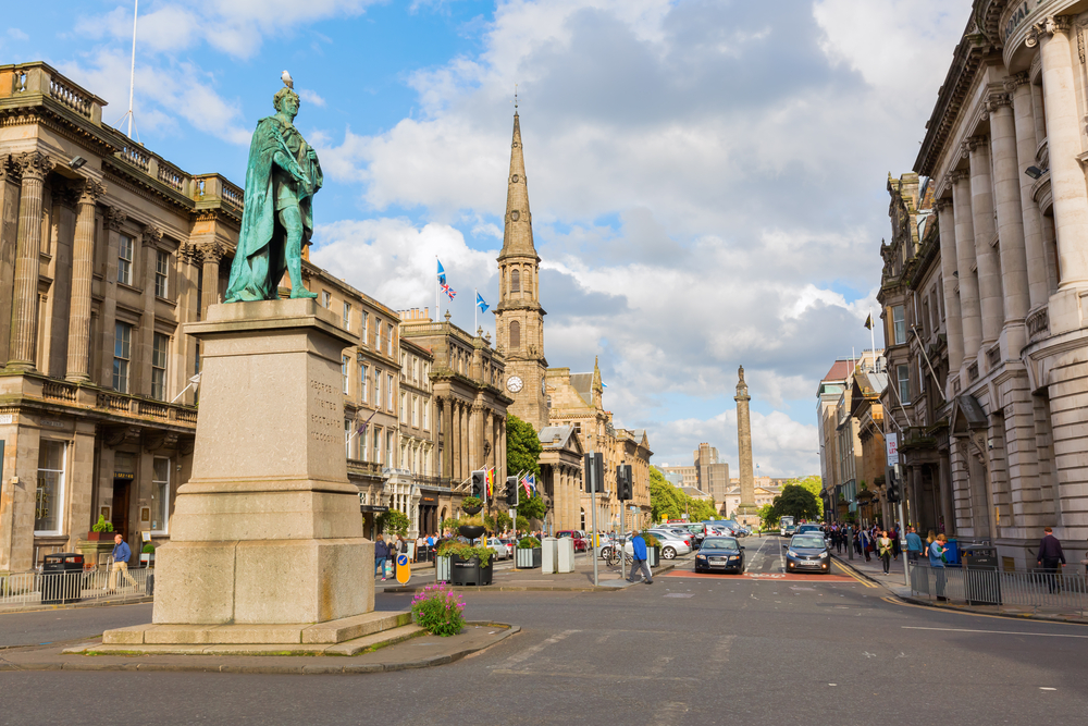 New Town - Mejores zonas para alojarse en Edimburgo, Escocia