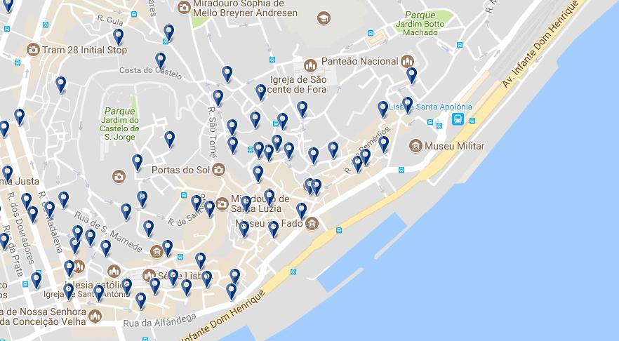 Alfama - Haz clic para ver todos los hoteles en esta zona