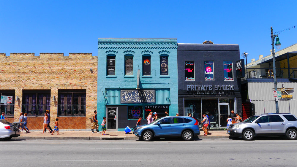 Sixth Street District - Austin, Texas