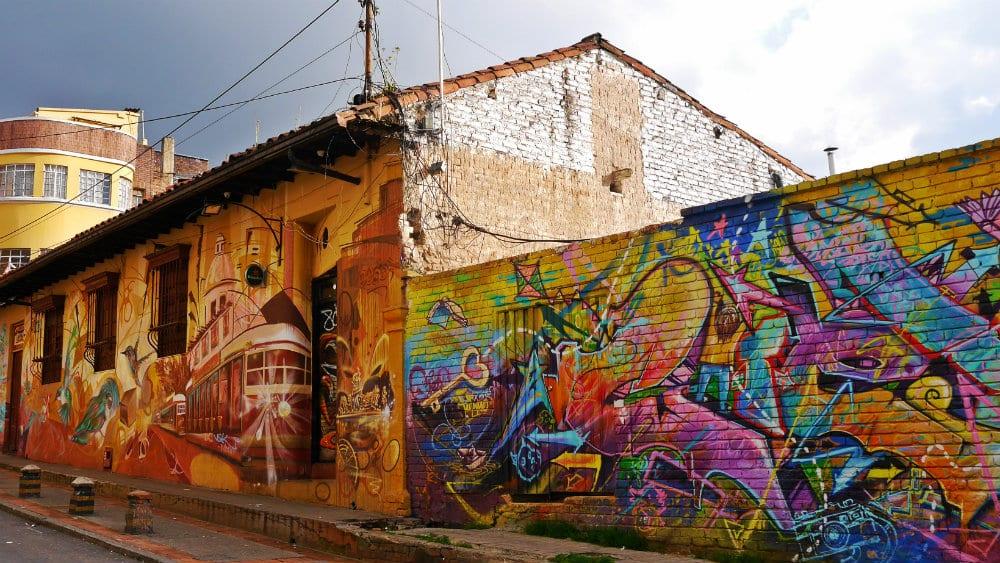 Street Art en La Candelaria