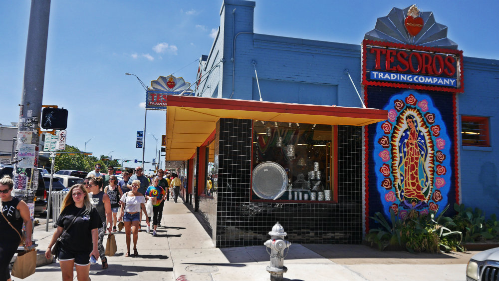 Mejores barrios donde dormir en Austin - South Congress Street