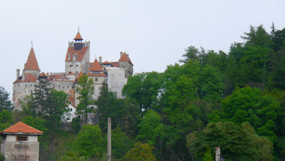 Castillo de Bran, cerca de Brasov, Rumaníaº