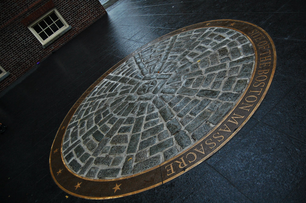 Lugar de la Masacre de Boston - Freedom Trail