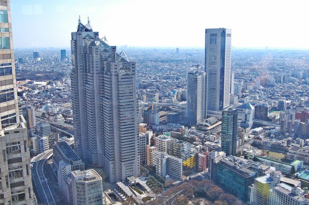 Mejores zonas para dormir en Tokio - Shinjuku