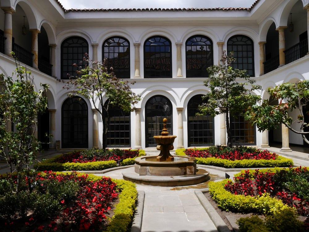 Museo Botero de Bogotá - Patio interior