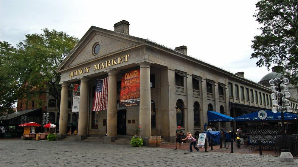 Quincy Market - Cosas que ver en Boston