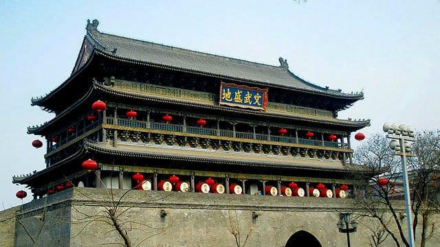 Torre del Tambor en Xi'an