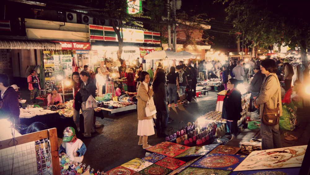 Chiang Mai - Night Bazaar