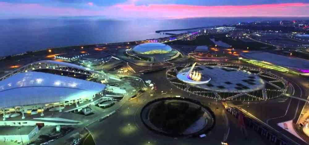 Dónde dormir en Sochi - Olympic Park & Fisht Stadium