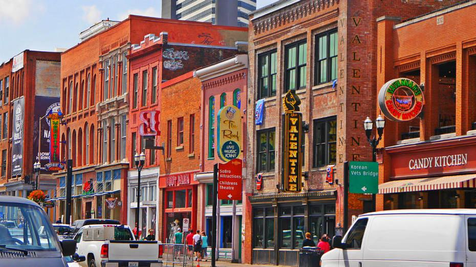 Mejor zona donde dormir en Nashville: Music Row