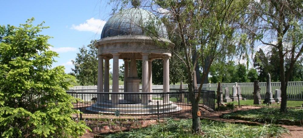Tumba de Andrew Jackson en el Hermitage de Nashville, Tennessee
