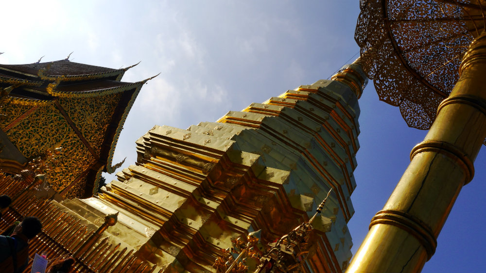 Wat Pharathat Doi Suthp