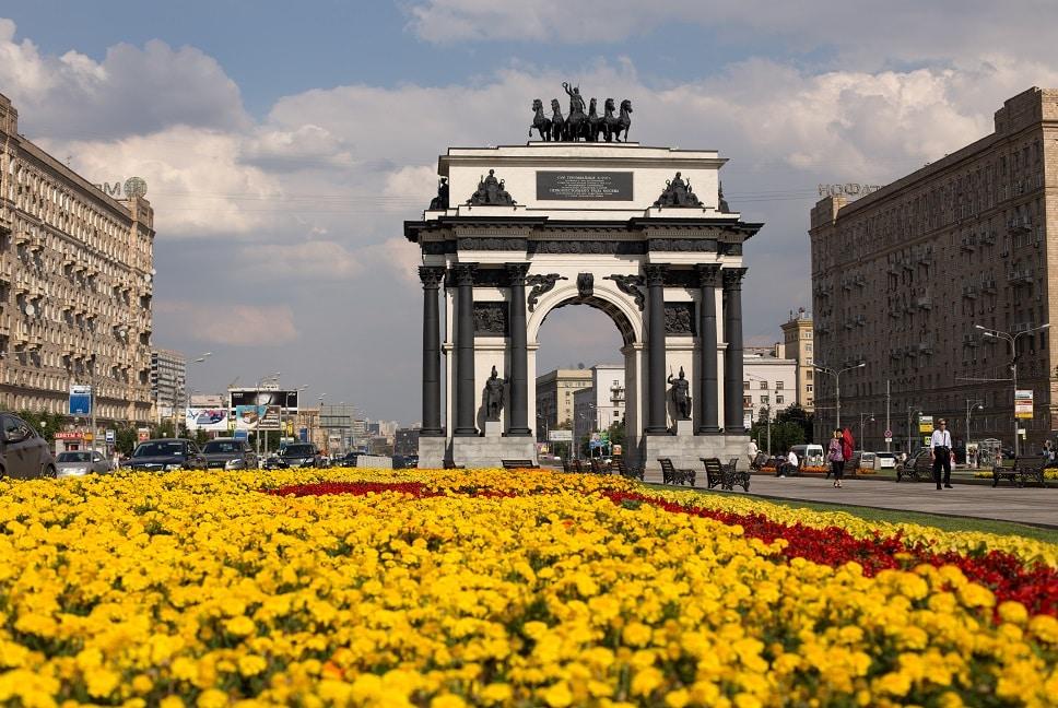 Donde alojarse en Moscú - Arco del Triunfo- Dorogomilovo