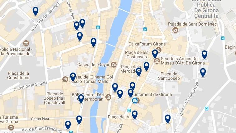 Girona - Ciutat Vella - Haz clic para ver todos los hoteles en un mapa