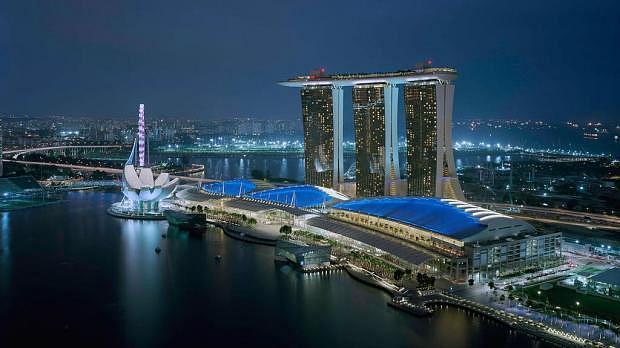 Dónde dormir en Singapur - Marina Bay
