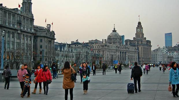 El Bund de Shanghái
