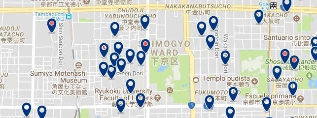 Kyoto - Shimogyo - Haz clic para ver todos los hoteles en un mapa