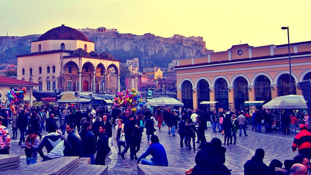 Mejor zona donde alojarse en Atenas - Plaka & Monastiraki