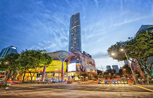 Mejor zona donde dormir en Singapur - Orchard Road