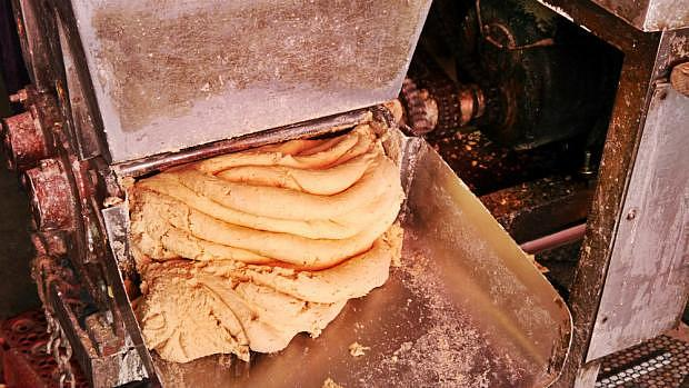 Fabricando tortillas mexicanas