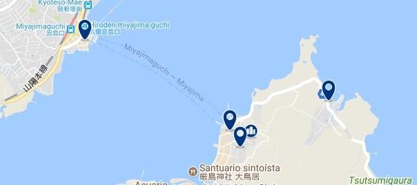 Hiroshima - Itsukushima (Miyajima) Island - Haz clic para ver todos los hoteles en un mapa