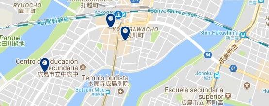 Hiroshima - Yokogawa - Haz clic para ver todos los hoteles en un mapa