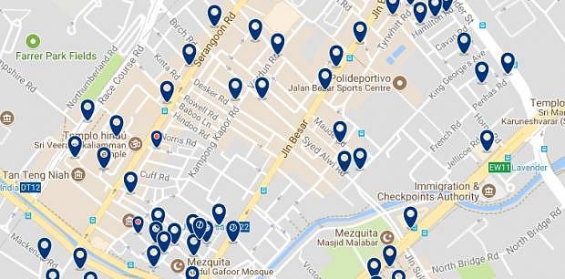 Singapur - Jalan Besar - Haz clic para ver todos los hoteles en un mapa