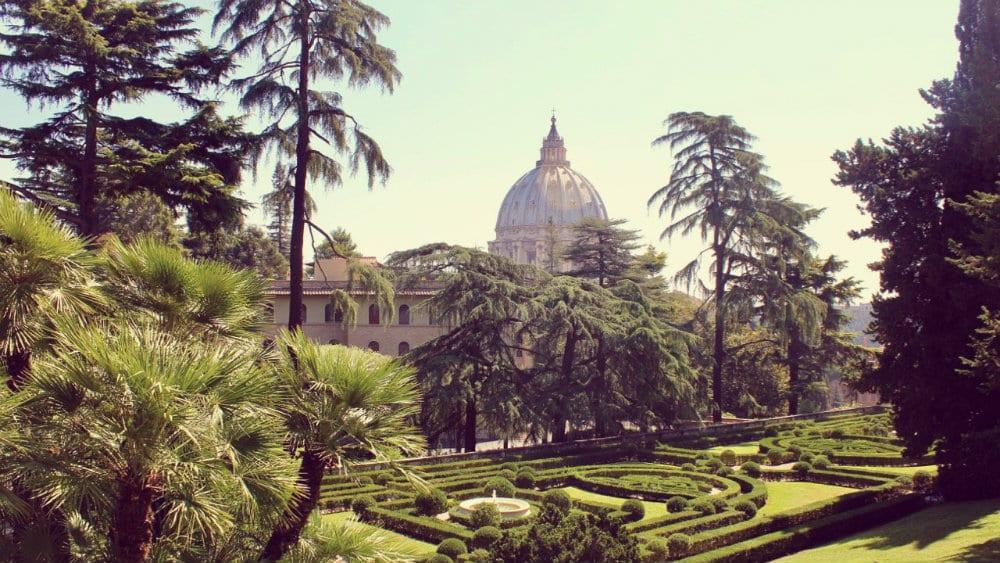 Jardines Vaticanos - Qué ver en la Ciudad del Vaticano