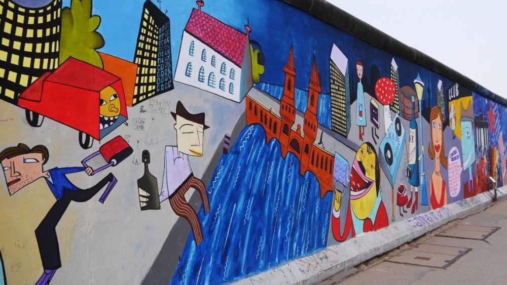 Murales de la East Side Gallery - Berlín