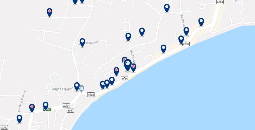 Phuket - Rawai Beach - Haz clic para ver todos los hoteles en un mapa