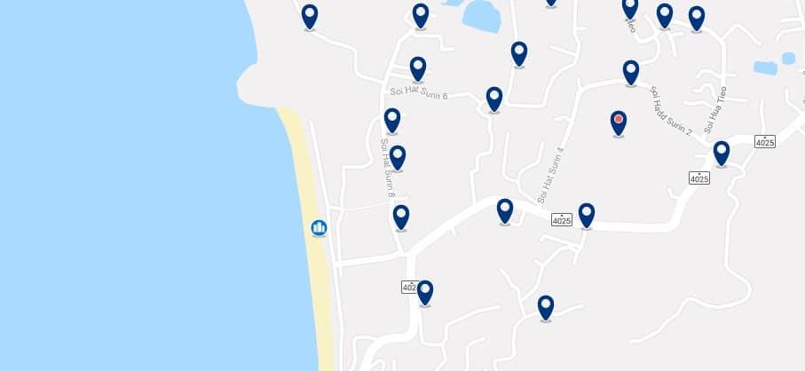 Phuket - Surin Beach - Haz clic para ver todos los hoteles en un mapa