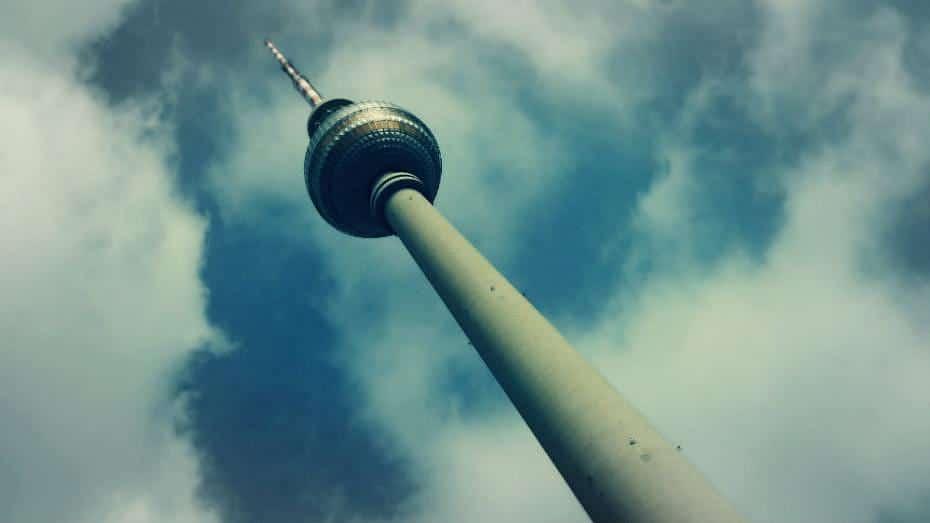 Torre de la TV de Berlín - Alexanderplatz