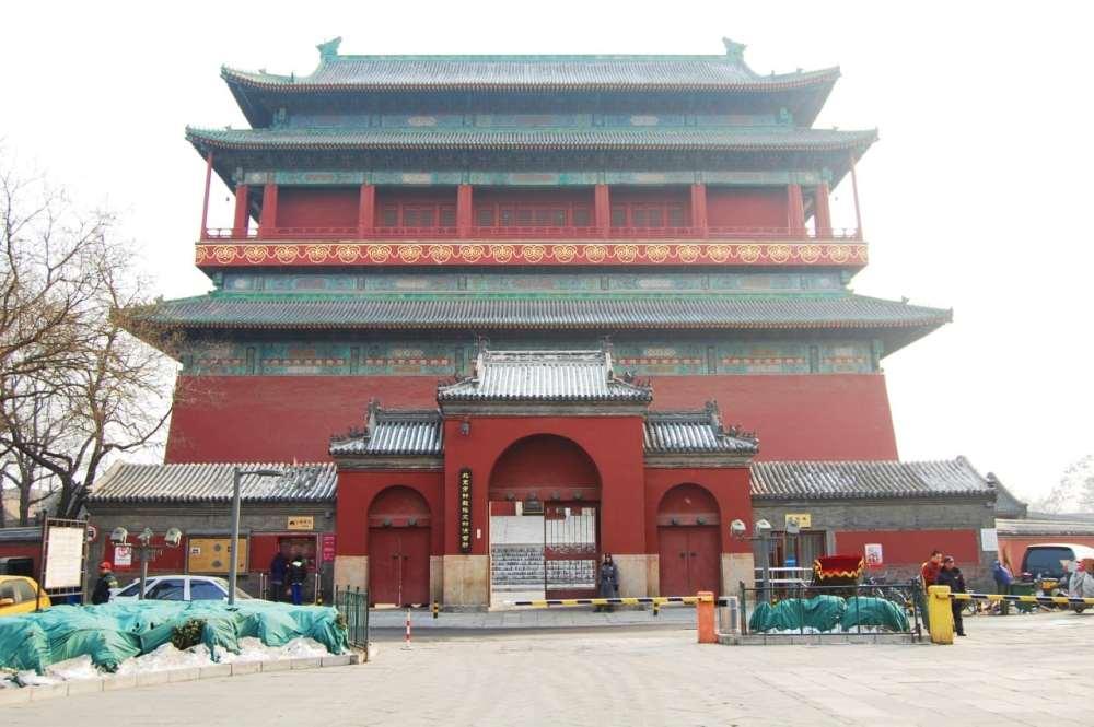 Atracciones de Beijing - Torre del Tambor
