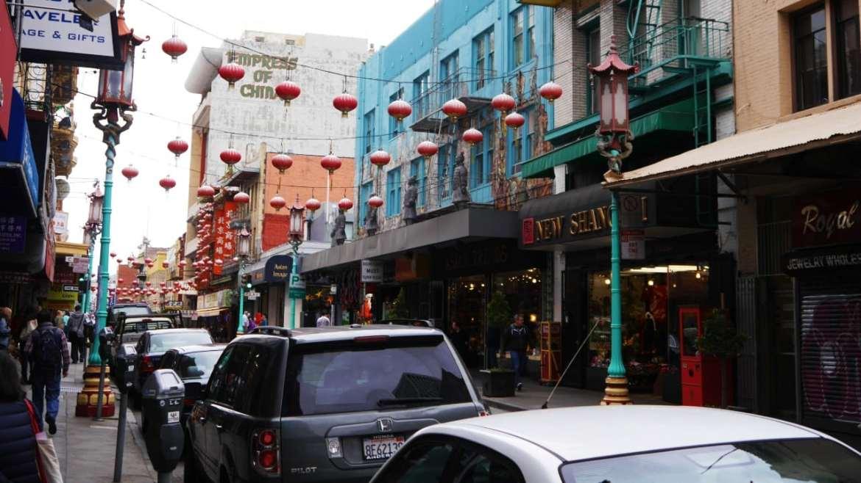Calle del barrio chino de San Francisco