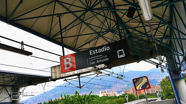 Estación Estadio - Metro de Medellín