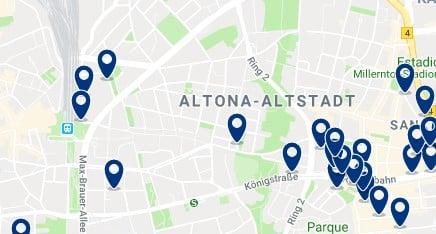 Hamburg - Altona - Haz clic para ver todos los hoteles en un mapa
