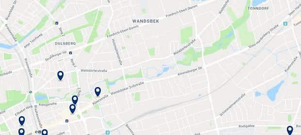 Hamburg - Wandsbek - Haz clic para ver todos los hoteles en un mapa