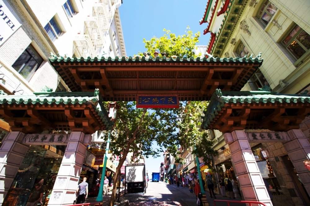Puerta del Dragón - Acceso al Chinatown de San Francisco