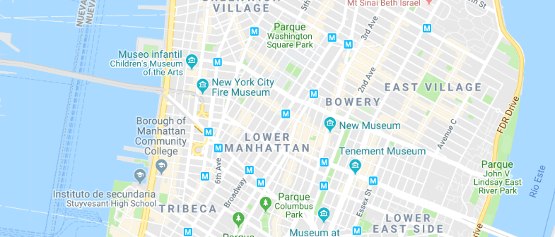 Nueva York - Soho & Tribeca - Haz clic para ver todos los hoteles en un mapa