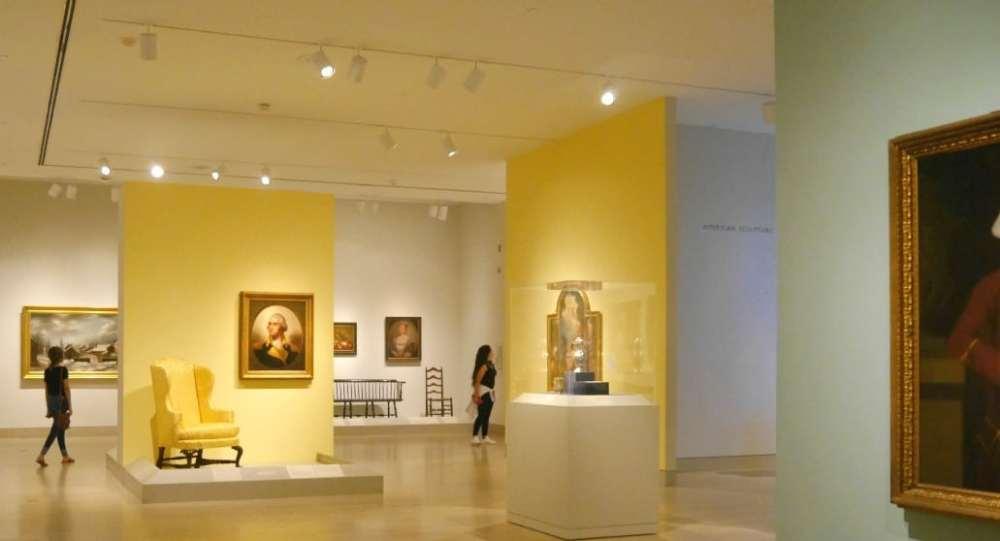 Sala de arte americano