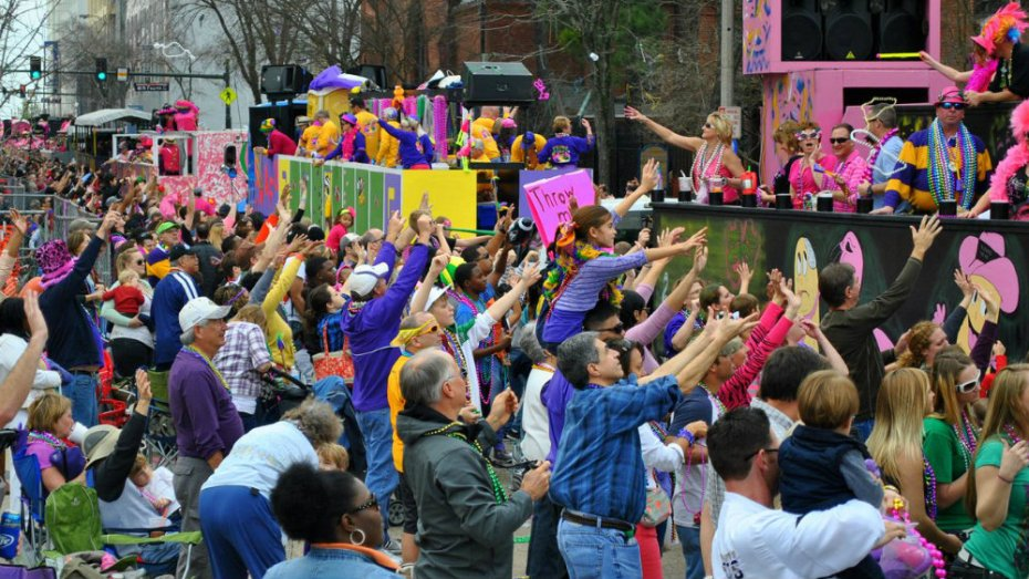 Spanish Town - Sede del Mardi Gras de Baton Rouge