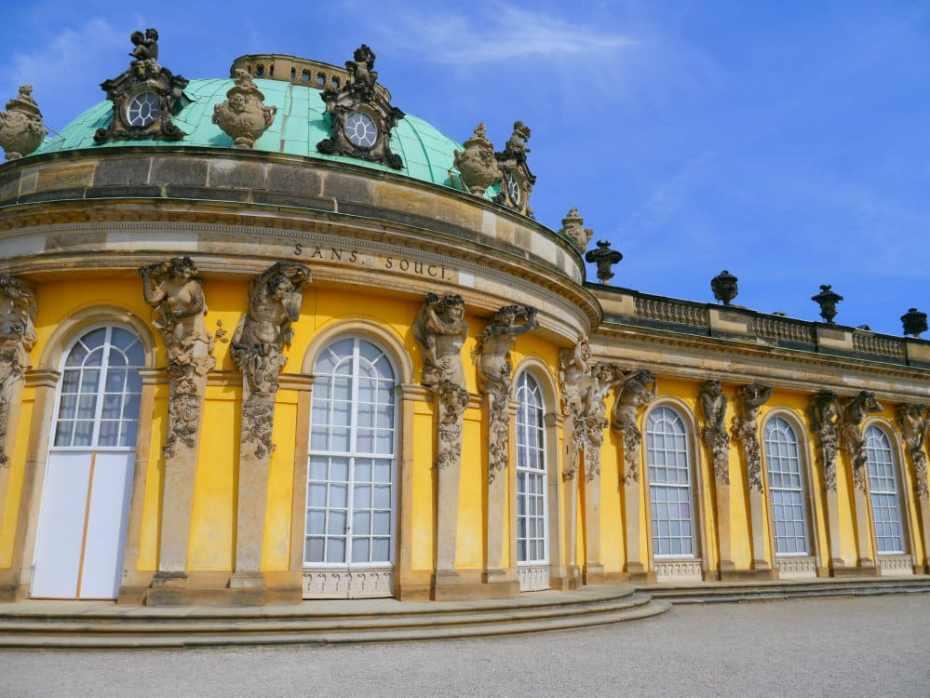 Mejor zona donde dormir en Potsdam - Palacio Sanssouci
