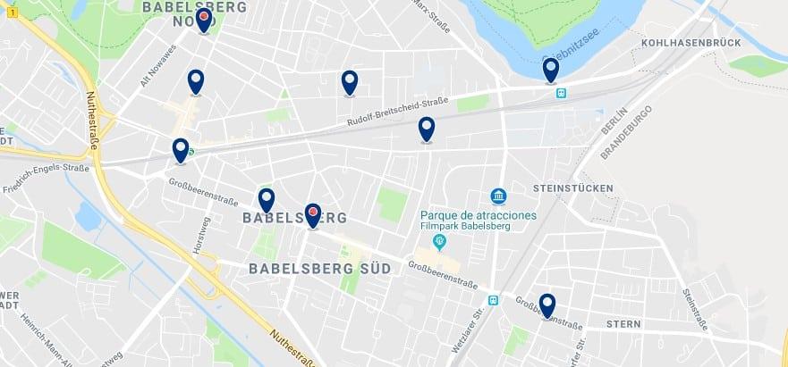 Potsdam - Babelsberg - Haz clic para ver todos los hoteles en un mapa